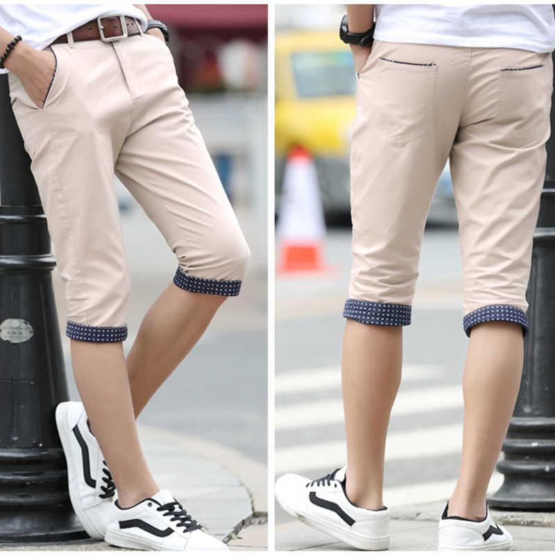 Mężczyźni lato na co dzień kieszenie Cargo szorty mężczyźni marka nowe spodenki na desce myte 100% bawełna solidna oddychająca moda na co dzień krótkie męskie