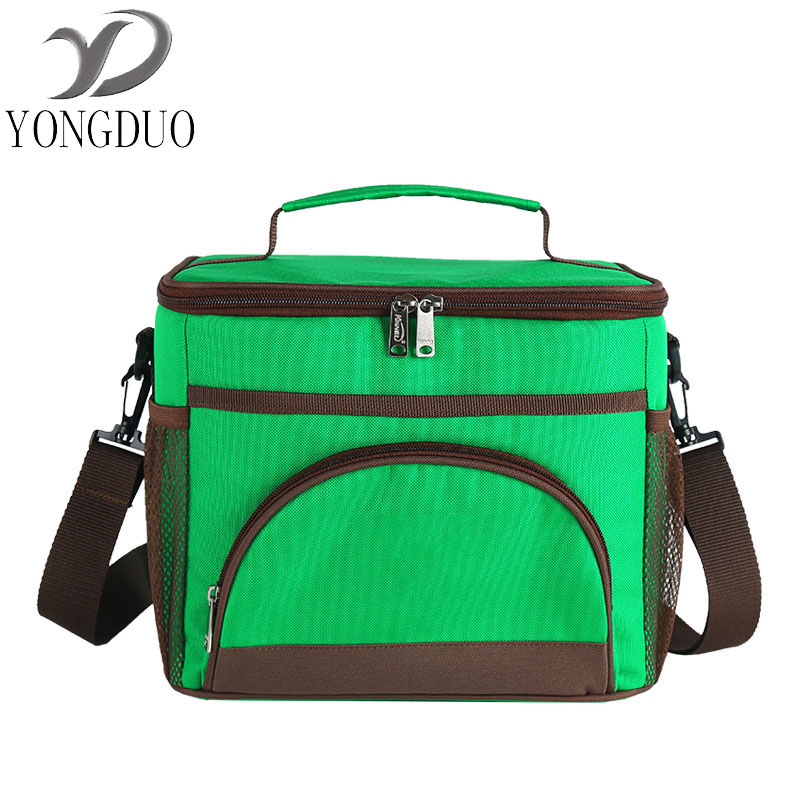 wxfbbaby Waterproof Portable Lunch Box 2Dinner Picnic Bags Insulation Fold Cooler Bag Chair Thermo Bag Lunchbox Thermal Insulate denim lunch bag kid bento box insulated pack picnic drink food thermal ice cooler leisure accessories supplies product