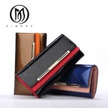 EIMORE Women's Wallets Women Cowhide Leather Wallet