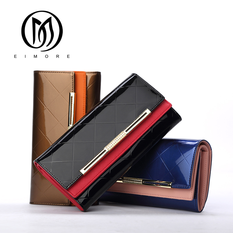 de couro do couro para Tipo OF Long Wallet : 2017 Cow Genuine Leather Women Wallets