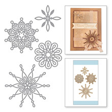 YaMinSanNiO Christmas Snowflake Metal Cutting Craft Frame Dies Scrapbooking Embossing for Card Making Decorative Album Photo