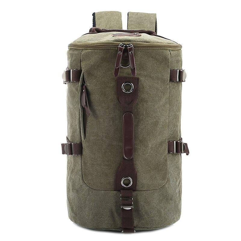 Для мужчин отдыха и путешествий рюкзак Портативный рюкзак Для женщин ретро ведро рюкзак большой Ёмкость модные Повседневное Рюкзаки 2017