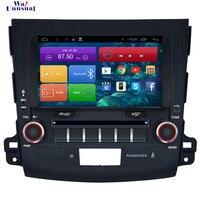 WANUSUAL 8 4 ядра 16 г Android 6,0 gps навигации для Mitsubishi Outlander 2006 2007 2008 2009 2010 2011 2012 с BT Wi Fi карта
