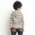 Inverno venda quente da primavera Tops manga comprida com capuz guarda roupas crianças roupas garotão virgem meninas listrado de mangas compridas t-shirt camisa