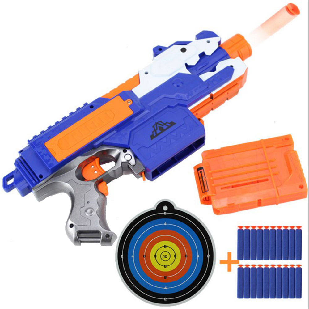 2019 Electric Soft Bullet Toy Gun For Children Dart Suit for Nerf Darts Suit for Nerf Gun Bullet Guns Sniper Rifle Toys For Kids 1