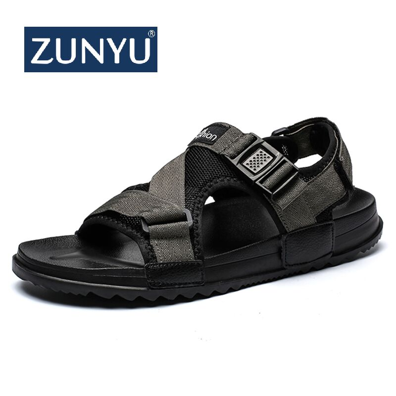 ZUNYU Sandals Men shoes Summer 2019 Beach Gladiator Fashion Mens Outdoor Sandals Shoes Flip Flops slippers Flat Large size 36-46ZUNYU Sandals Men shoes Summer 2019 Beach Gladiator Fashion Mens Outdoor Sandals Shoes Flip Flops slippers Flat Large size 36-46