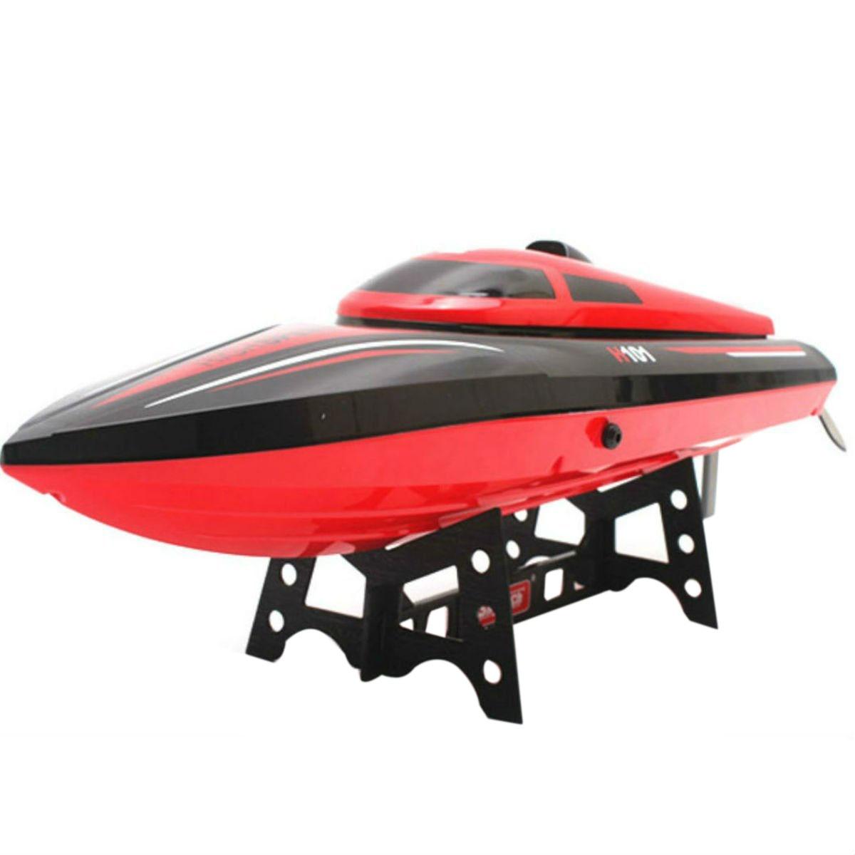 Bateau électrique télécommandé haute vitesse Skytech H101 2.4 GHz pour piscines, lacs et aventures en plein air