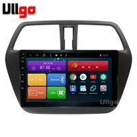 4G + 64G Octa Core 9 Android 8,1 автомобильный DVD gps для Suzuki SX4 S cross 2014 + автомобильное радио с gps головное устройство с RDS BT Mirrorlink Wi Fi
