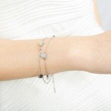 Star Chain Link Charm Bracelet