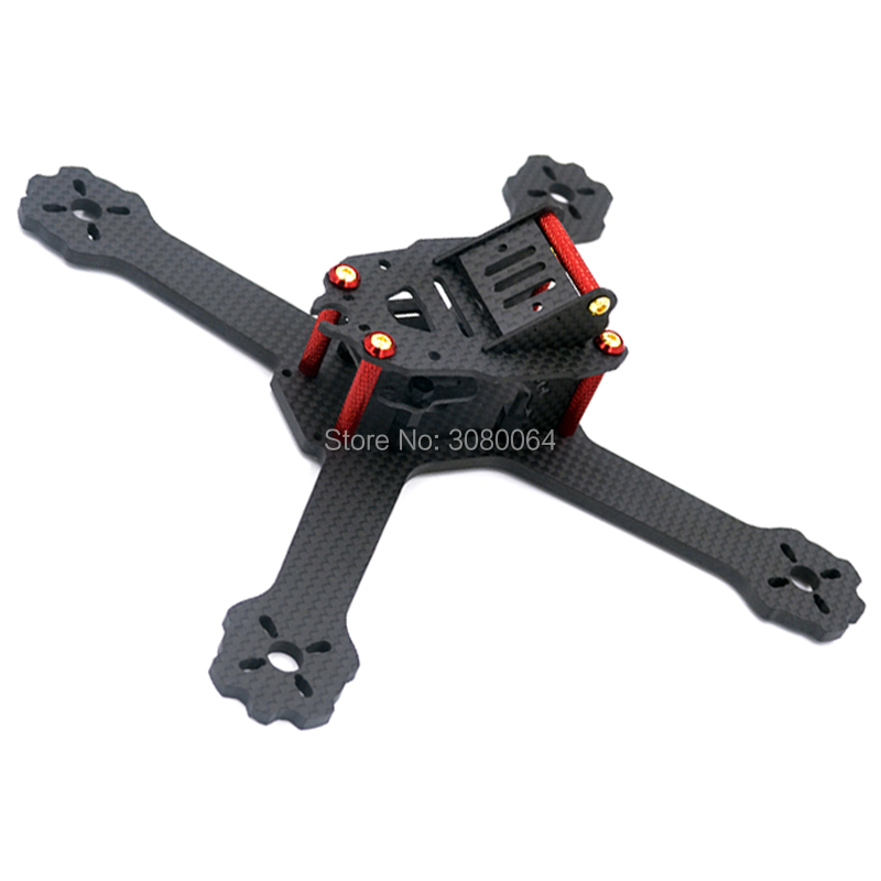 Mini drone quad FPV frame QAV-X GTR HK-X4 175mm X5 200mm cross racing quadcopter QAV-R pure carbon fiber frame for Gifts 5045 V2 diy mini drone fpv cross racing quadcopter pure carbon fiber owl250 frame alien qav250 quad