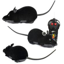 Funny Gadgets Scary RC Remote Controller Simulation Plush Mouse Mice Kid Toy Gift BK Remote Controlled Animals Toys for Boy