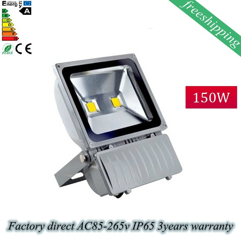 Wholesale 4PCS/Lot  150W High Power LED Flood Light  AC 85-265V Waterproof IP65  Square lamps led project light Gym stadium lamp ip67 die cast aluminum alloy module ac100v 110v 220v 200w led high mast tunnel stadium flood light fixture