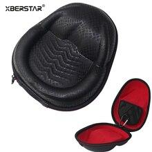 Nova EVA Hard Case Bag Bolsa para Sennheiser HD 518 558 515 555 418 419 429 Fone De Ouvido