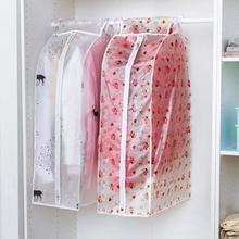 Printed Dustproof Suit Coat Clothing Cover Wardrobe Hanging Storage Bag Garment Suit Coat Dust Cover Protector S/L