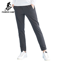Pioneer camp new arrival casual pants mens brand clothing full length drawstring men trousers quality solid pants male AXX801211