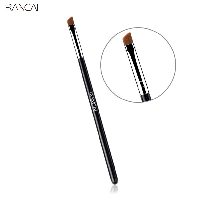 Angled eyebrow brush synthetic hair professional makeup brushes (2)