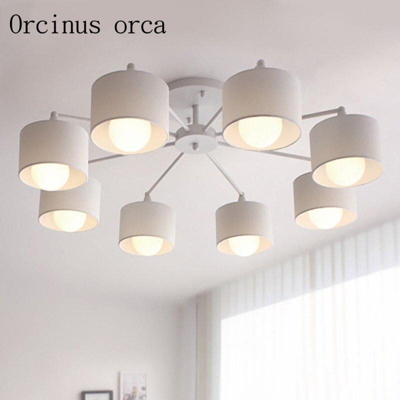 Obývací pokoj lustr tvůrčí osobnosti jídelna korejská ložnice lampa LED moderní jednoduché osvětlení lampy