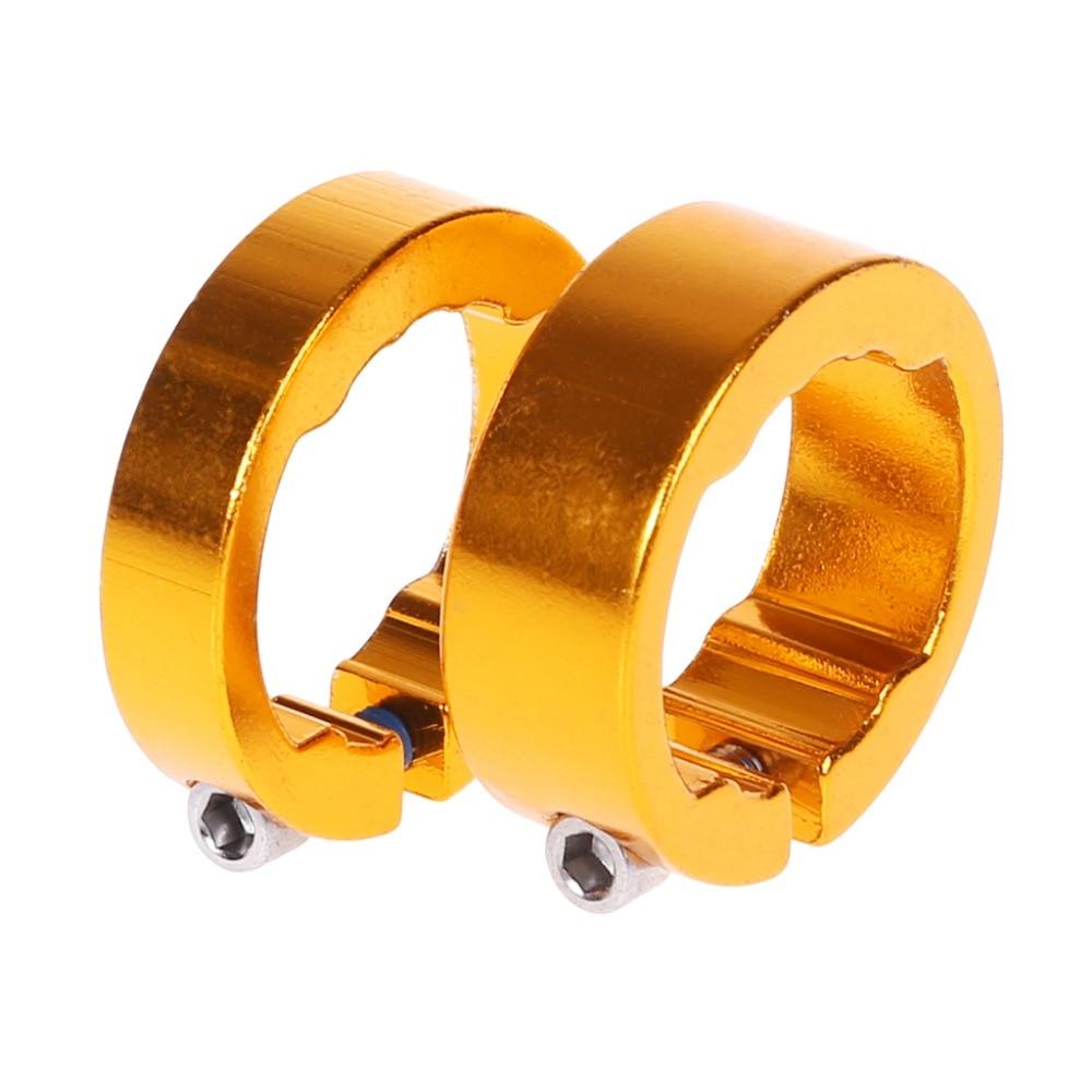1pc Bicycle Grips Ring Aluminum Alloy End Lock Rings Handlebar Bike Parts