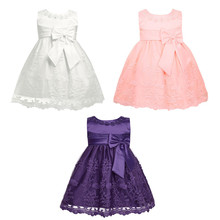 Cute Lace Embroidered Toddler Dresses