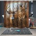 Занавески для душа  занавески для ванной + Крючки  1 5 м x 1 8 м 1 8 м x 1 8 м 1 8 м x 2 м  экологически чистые  скандинавские  Caribou Reed