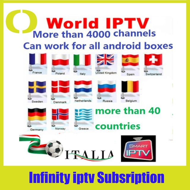 US $8 5 |Aliexpress com : Buy Send immediately !1 year infinity iptv  subscription IPTV box watch HD channels for Europe South America Middle  East from