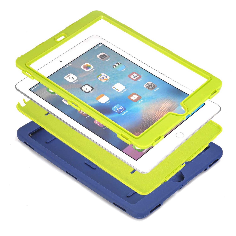 För iPad Pro 9.7, För iPad Air 2 Fodral Retina Barn Babysäker - Surfplatta tillbehör - Foto 2