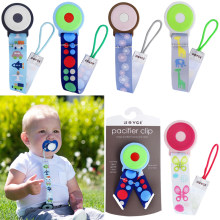 1PC Brand Baby Pacifier Clip Pacifier Chain Dummy Clip Nipple Holder For Nipples Children Pacifier Clips Teether Anti-drop Rope(China)