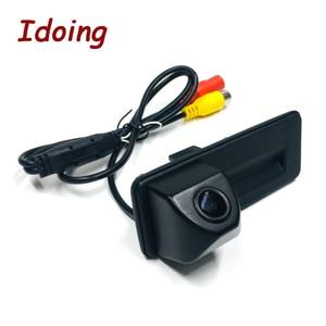 Image 4 - Idoing CCD Car Rear Camera Special camera For Skoda Octavia 2 Car Radio Multimedia DVD Audio Vedio Player