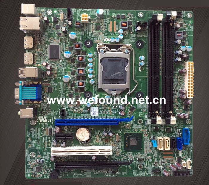 Desktop Motherboard For CN-0J32FG J32FG 0J32FG 9010 7010 Q77 LGA1155 System Board Fully Tested asus p5kpl se desktop motherboard p31 socket lga for 775 core pentium celeron ddr2 4g atx uefi bios original used mainboard