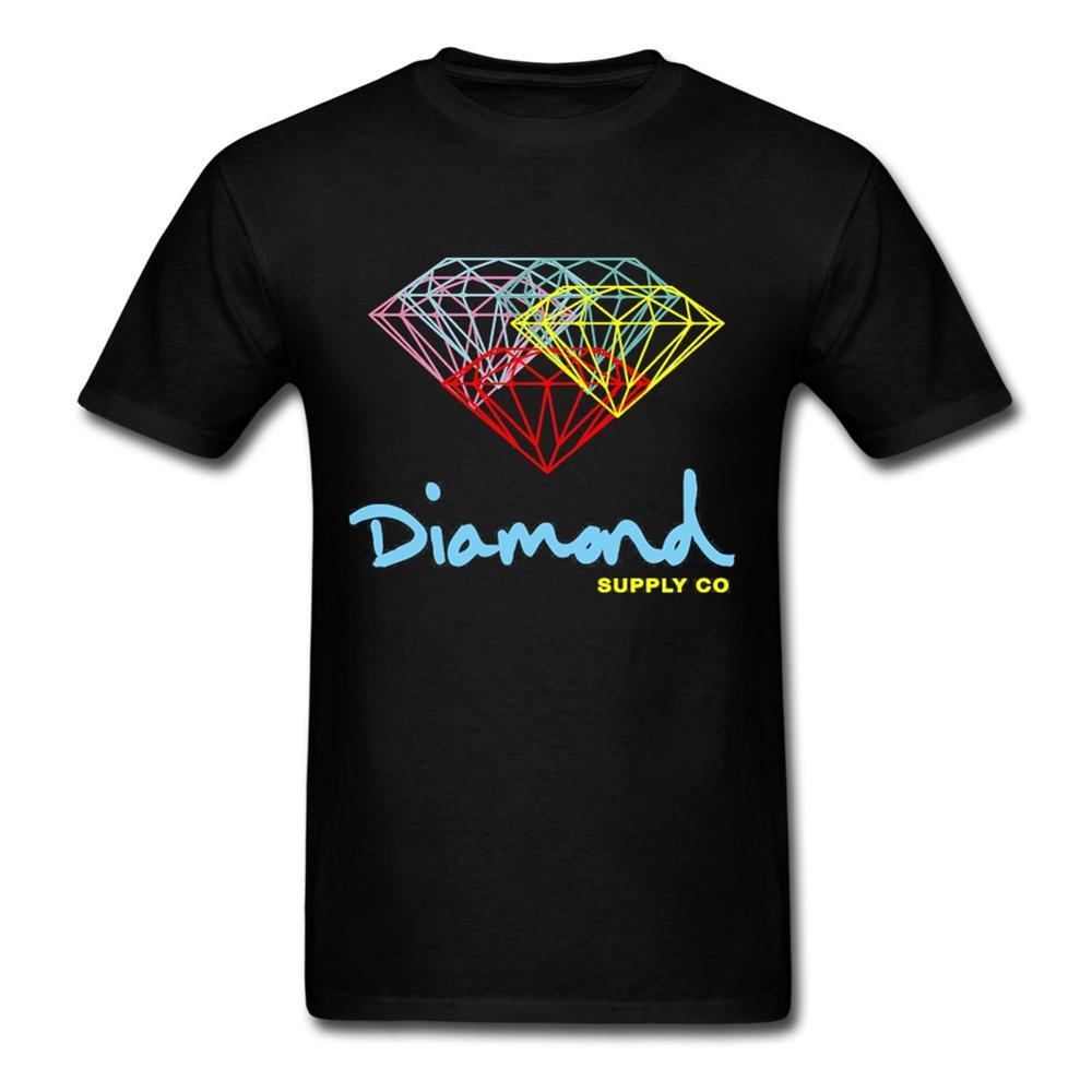 Shirt design supplies - 3d T Shirt New Designs Diamond Supply Co For Men Printed T Shirts Short Sleeve