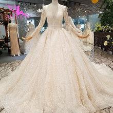 AIJINGYU Weiß Tüll Kleider Formale Kleider Ball Indien Designer Satin Neueste Kleid Farbe Hochzeit Kleid Änderungen