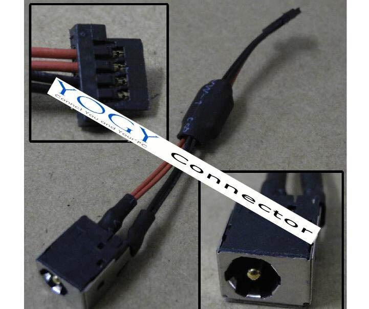 1x Новый разъем питания постоянного тока с кабельным разъемом разъем подходит для Acer ASPIRE ONE 255