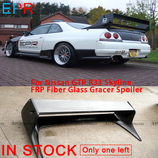 US $293 7 11% OFF|For Nissan GTR R33 Skyline FRP Fiber Glass Gracer  Spoiler-in Spoilers & Wings from Automobiles & Motorcycles on  Aliexpress com |