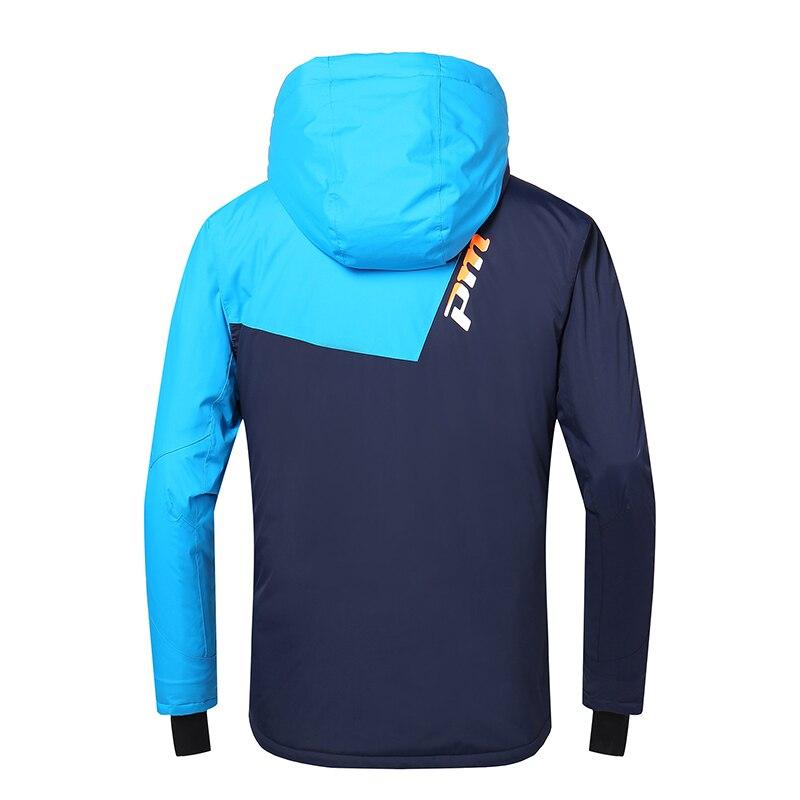 Rivelatore di Uomini Inverno Giacca da Sci da Snowboard All'aperto Degli Uomini Del Vestito Caldo Impermeabile Antivento Traspirante Vestiti - 3