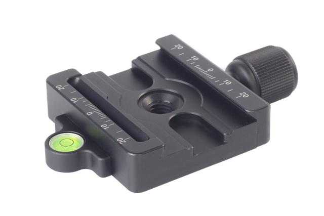Frete Grátis SUNWAYFOTO MAC-14 50mm Braçadeira Manfrotto e Arca Swiss compatível