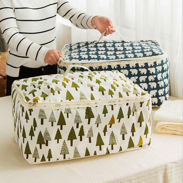 Высокое качество 2016 новое поступление ящики для хранения портативный складные одежда одеяло одеяло организатор водонепроницаемый ящик для хранения одежды