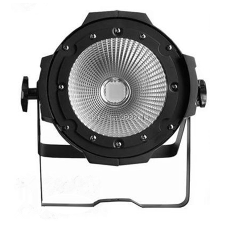 Niugul LED COB Par Light 100W High Brightness Aluminium Case White And Warm White 100W COB LED Par Light DMX512 Stage Lighting led par cob 200w only violet strobe stage light high power dmx512 light aluminium case stage lighting dj equipment