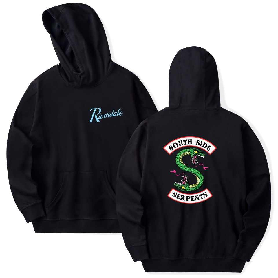 Women/men Casual Hoodies Riverdale Hoodie Sweatshirts Men Hip Hop Streetwear South Side Serpents hoodies Pullover Coat Clothes