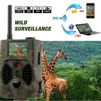 12MP 940nm NO glow Trail Cameras MMS Hunting Cameras Trap Game Cameras Black IR Wildlife Cameras
