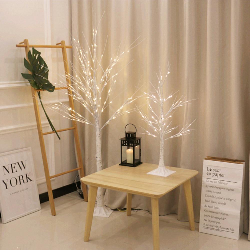 festival natal decoracao moderna interior branco quente 03