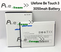 Ulefone be touch 3 battery 100% NEW 3050Mah Battery Replacement For Ulefone be touch 3 cellPhone +In Stock