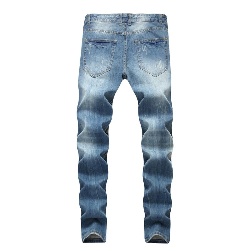 5c7640d50d2 2019 Gersri Cotton Jean For Men S Pants Vintage Straight Hole Cool ...