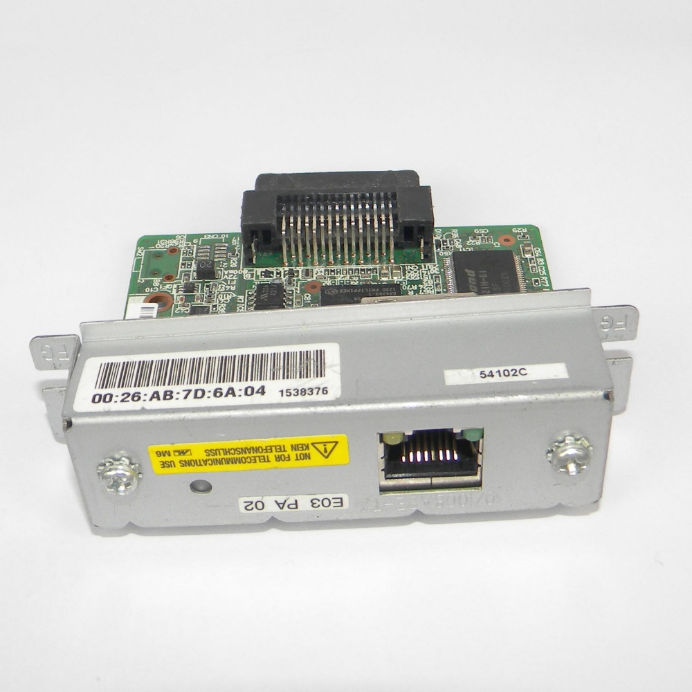 US $43 99 12% OFF|UB E03 M252A Ethernet Interface Card for Epson TM Receipt  Printer-in Printers from Computer & Office on Aliexpress com | Alibaba