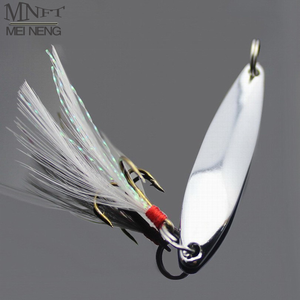 MNFT 2 Fishing Lure Hard Baits Sequins Noise Paillette with Feather Treble Hook Tackle Iron Bait 5/7/10/13/18/21g Road Sub Bait 1pc fishing lures plastic hard bait with feather hook treble hooks 9cm 7 2g lifelike fishing minnow crankbait fishing tackle