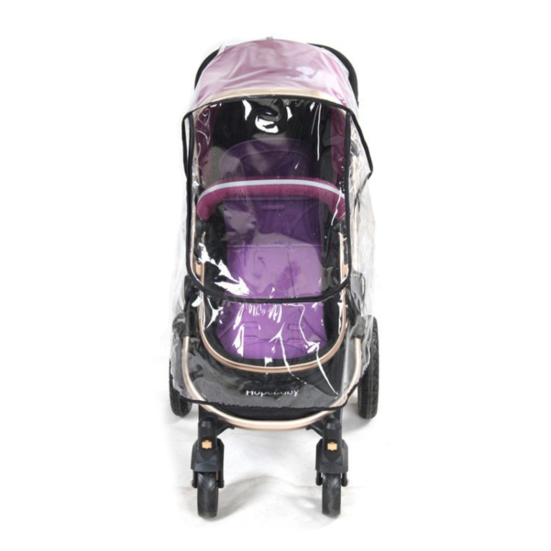 Baby Stroller Rain Cover Non-toxic Tasteless PVC Universal Wind Dust Shield For Strollers Pushchairs Stroller Accessories