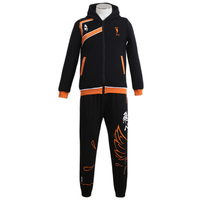 Brdwn Haikyuu Karasuno Koukou High School Fallen Crows Hinata Shoyo Kageyama Tobio Cosplay Volleyball Uniform (hoodie+pants)