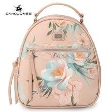 d26db0d2189f Davidhones для женщин рюкзаки искусственная кожа Женский сумки на плечо  большая леди цветок школьная сумка девушка