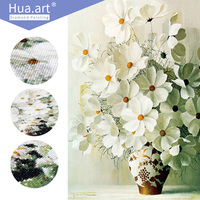 New Generation Full Diamond Embroidery Cross Stitch Crystal Sticker Decorative Diy Round Drill Diamond Painting Sunflower