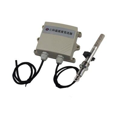 Livraison gratuite 1 pc étanche température et humidité capteur transmetteur RS485 transmetteur avec étanche sonde neige preuve