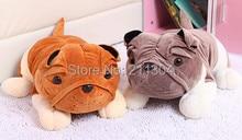 25cm bulldog plush toy,funny lovely soft vivid royal loyal pet doggy,birthday gift for children kids boys girls free shipping
